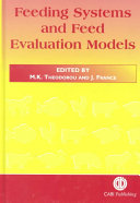 Feeding Systems and Feed Evaluation Models Book