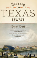 Journey to Texas  1833