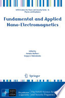 Fundamental and Applied Nano Electromagnetics
