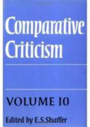 Comparative Criticism  Volume 10  Comedy  Irony  Parody