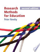 Research Methods for Education  second edition