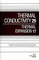 Thermal Conductivity 29 Book PDF