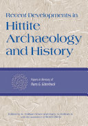 Pdf Recent Developments in Hittite Archaeology and History Telecharger