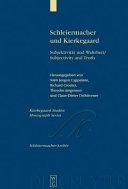 Schleiermacher und Kierkegaard