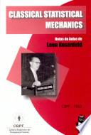 Classical Statistical Mechanics (inglês)