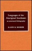 Languages Of The Aboriginal Southeast