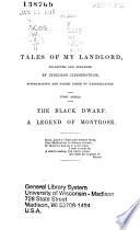 Waverley Novels: Black dwarf. A legend of Montrose. 1860
