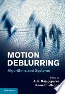 Motion Deblurring