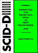 Structured Clinical Interview for DSM IV Dissociative Disorders  SCID D