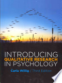 Introducing Qualitative Research In Psychology Book PDF
