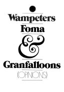 Wampeters, Foma & Granfalloons (opinions).