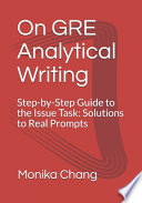 On GRE Analytical Writing
