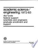 Academic Science engineering  1972 83 Book