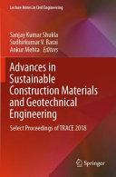 Advances in Sustainable Construction Materials and Geotechnical Engineering