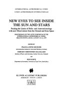 New Eyes To See Inside The Sun And Stars Book PDF