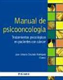 Manual De Psicooncolog A Tratamientos Psicol Gicos En Pacientes Con C Ncer