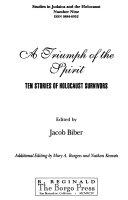 A Triumph of the Spirit Book PDF