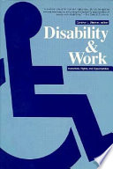 Disability and Work