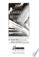 American Reference Books Annual  , Band 34