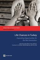 Pdf Life Chances in Turkey