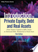 Introduction to Private Equity  Debt and Real Assets Book
