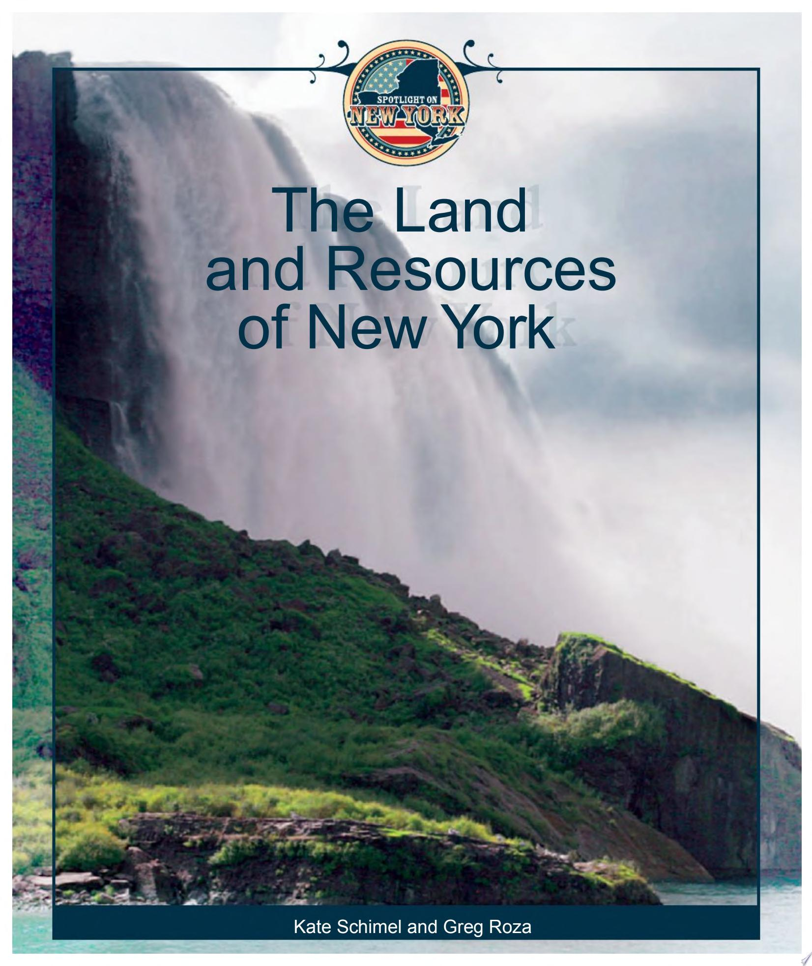 The Land and Resources of New York