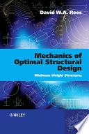 Mechanics of Optimal Structural Design Book
