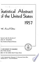 Statistical Abstract of the United States Book