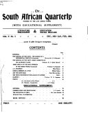 The South African Quarterly