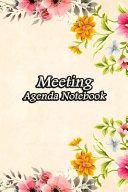 Meeting Agenda Notebook