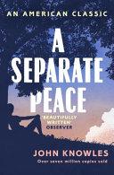 A Separate Peace PDF
