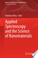 Applied Spectroscopy And The Science Of Nanomaterials Book PDF
