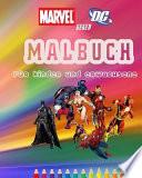 Marvel Gegen DC Malbuch F