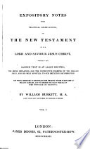 Expository notes, with practical observations, on the New Testament