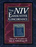 The NIV Exhaustive Concordance Book