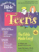 What is in the Bible For   Teens