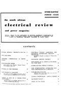 South African Electrical Review and Power Magazine