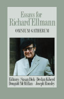 Pdf Essays for Richard Ellmann