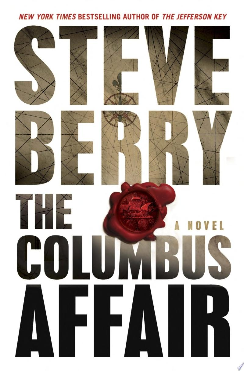 The Columbus Affair: A Novel (with bonus short story The Admiral's Mark) banner backdrop