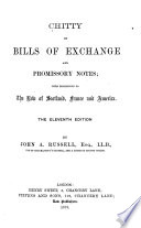 Chitty on Bills of Exchange and Promissory Notes