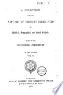A Selection from the Writings of Viscount Strangford on Political, Geographical, and Social Subjects  , Volume 2