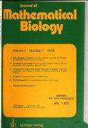 Journal of Mathematical Biology Book
