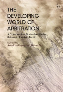 The Developing World of Arbitration