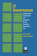IT Governance Implementing Frameworks and Standards for the ...