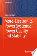 More Electronics Power Systems Power Quality And Stability Book PDF