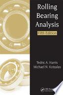 Rolling Bearing Analysis   2 Volume Set