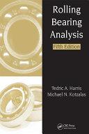 Pdf Rolling Bearing Analysis - 2 Volume Set