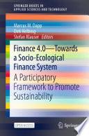 Finance 4 0   Towards a Socio Ecological Finance System
