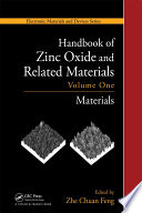 Handbook Of Zinc Oxide And Related Materials Book PDF