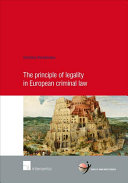 The Principle of Legality in European Criminal Law